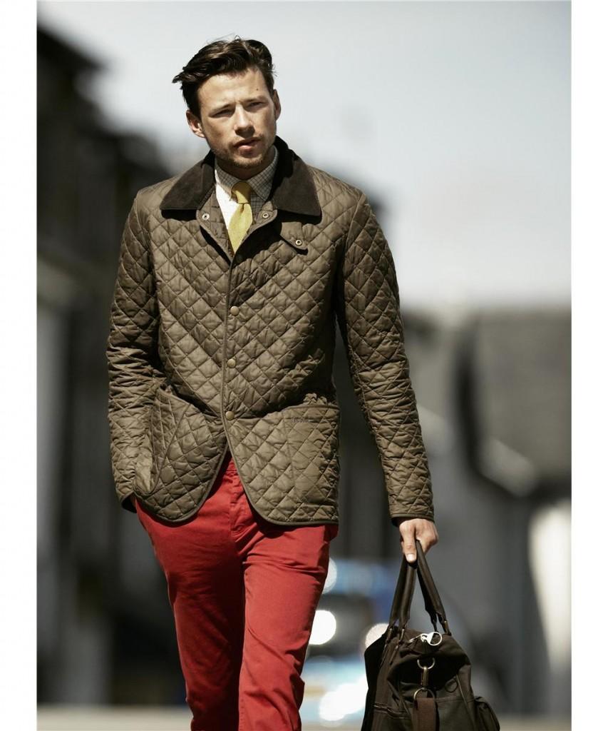 С чем носить куртки барбур