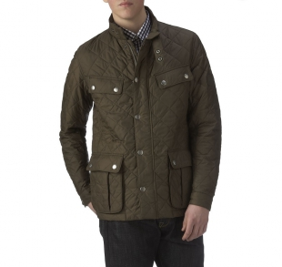Ariel Quilted Jacket Olive Ariel Quilted Jacket Olive