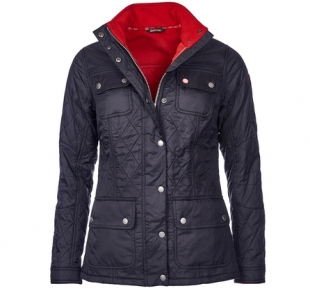 Bartlett Quilted Jacket Black Bartlett Quilted Jacket Black