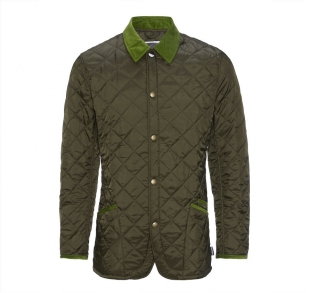 Chip Lifestyle Quilted Jacket Olive Chip Lifestyle Quilted Jacket Olive