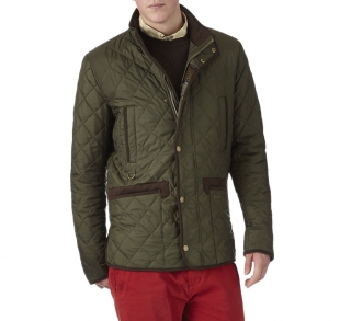 Cordwiner Quilted Jacket Green Cordwiner Quilted Jacket Green