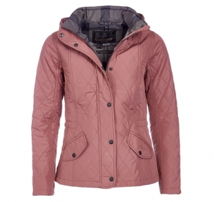 Millfire Quilted Jacket Old Rose Millfire Quilted Jacket Old Rose