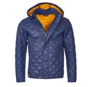 Pillar Quilted Jacket Navy Pillar Quilted Jacket Navy