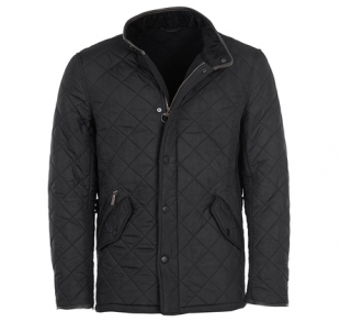 Powell Quilted Jacket Black Powell Quilted Jacket Black