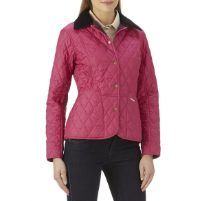 Prism Quilted Jacket Bright Pink Prism Quilted Jacket Bright Pink