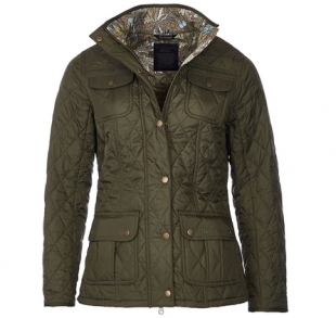 Ruskin Quilted Jacket Olive Ruskin Quilted Jacket Olive