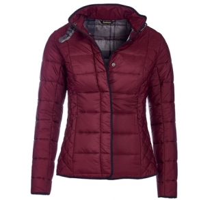Straiton Quilted Jacket Bordeaux Straiton Quilted Jacket Bordeaux