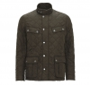 Ariel Quilted Jacket Olive - 3