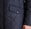 Bardon Quilted Jacket Navy - 3