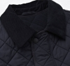 Bardon Quilted Jacket Navy - 5