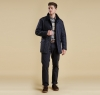 Bardon Quilted Jacket Navy - 7