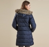 Buoy Quilted Jacket Black - 1