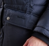 Buoy Quilted Jacket Black - 3