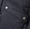 Buoy Quilted Jacket Black - 5