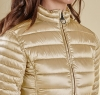Clyde Short Baffle Quilted Jacket Dark Pearl - 2