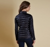 Clyde Short Baffle Quilted Jacket Navy - 1