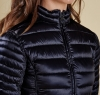 Clyde Short Baffle Quilted Jacket Navy - 2