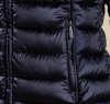 Clyde Short Baffle Quilted Jacket Navy - 3