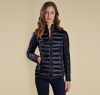 Clyde Short Baffle Quilted Jacket Navy - 4