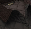 Eskdale Quilted Jacket Dark Brown - 4