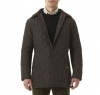 Eskdale Quilted Jacket Dark Brown - 7