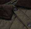 Eskdale Quilted Jacket Forest Green - 4