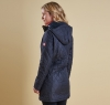 Kirkby Quilted Jacket Navy - 1