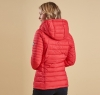 Landry Baffle Quilted Jacket Red - 1