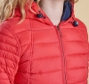 Landry Baffle Quilted Jacket Red - 2