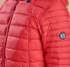 Landry Baffle Quilted Jacket Red - 3