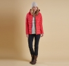Landry Baffle Quilted Jacket Red - 6