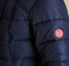 Landry Long Quilted Jacket Navy - 3