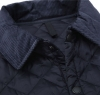 Liddesdale Quilted Jacket Navy - 3