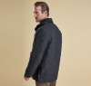 Microfibre Polarquilt Jacket Black - 1