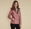 Millfire Quilted Jacket Old Rose - 4