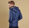 Pillar Quilted Jacket Navy - 1