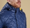 Pillar Quilted Jacket Navy - 2
