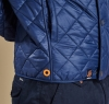 Pillar Quilted Jacket Navy - 3