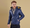 Pillar Quilted Jacket Navy - 4