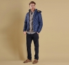 Pillar Quilted Jacket Navy - 5