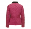 Prism Quilted Jacket Bright Pink - 4