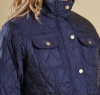 Ruskin Quilted Jacket Navy - 2