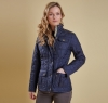 Ruskin Quilted Jacket Navy - 4