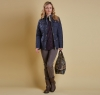 Ruskin Quilted Jacket Navy - 5