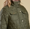 Ruskin Quilted Jacket Olive - 2