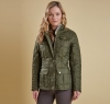 Ruskin Quilted Jacket Olive - 4