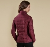 Straiton Quilted Jacket Bordeaux - 1