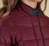 Straiton Quilted Jacket Bordeaux - 2