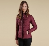Straiton Quilted Jacket Bordeaux - 4