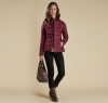 Straiton Quilted Jacket Bordeaux - 5